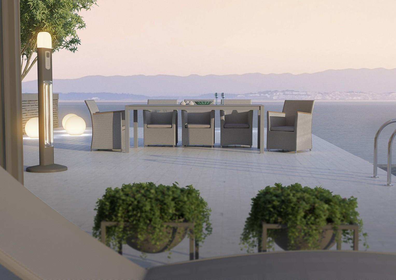 Masywnie Producent aluminiowych mebli ogrodowych | ZUMM Producent JL23