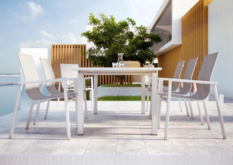 Aluminiowe stoły ogrodowe