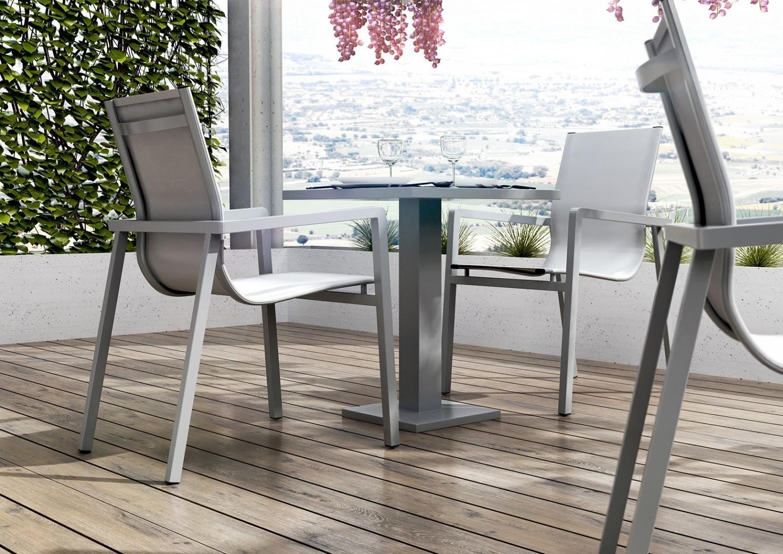 meble balkonowe z metalu zumm z metalu aluminium na balkon taras. Black Bedroom Furniture Sets. Home Design Ideas