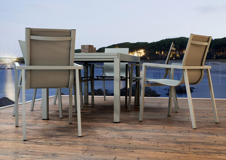 Krzesło aluminiowe ogrodowe