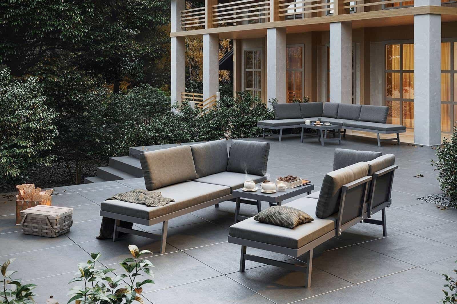 Metalowe meble do ogrodu – oryginalne propozycje na aranżację