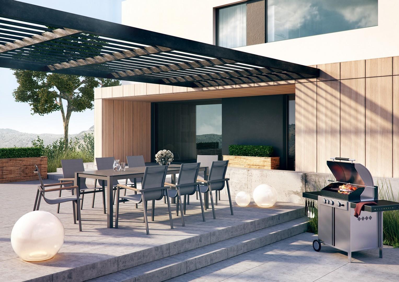 Stół metalowy ogrodowy
