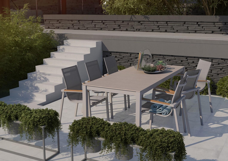 Mały nowoczesny balkon
