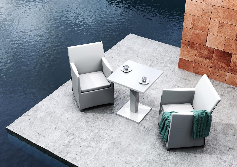 Zestaw ogrodowy: stół i krzesła