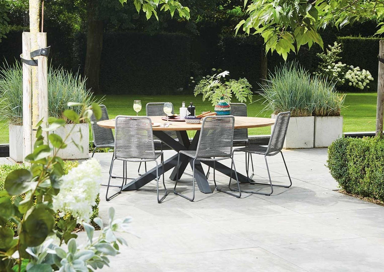 Meble ogrodowe – stół i krzesła