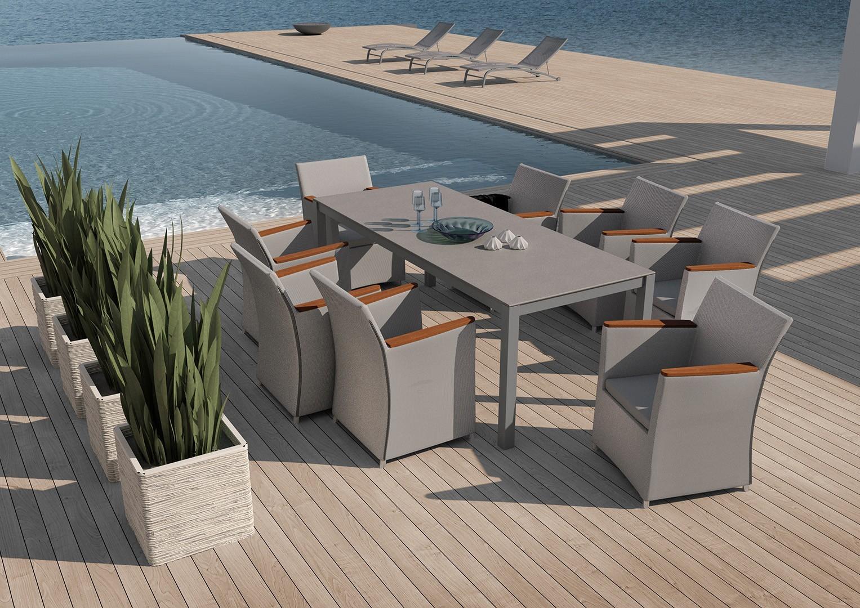 Krzesła tarasowe do przydomowych stref wypoczynkowych