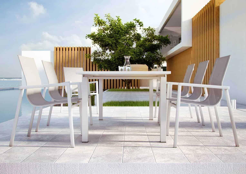 Meble ogrodowe białe – wyjątkowa aranżacja ogrodu lub tarasu