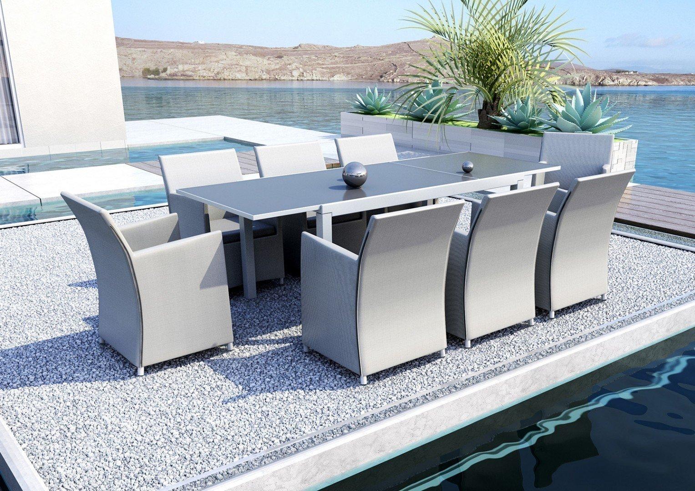 Stylowe meble ogrodowe na patio