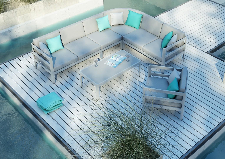 kanapa ogrodowa kolekcja barcelona