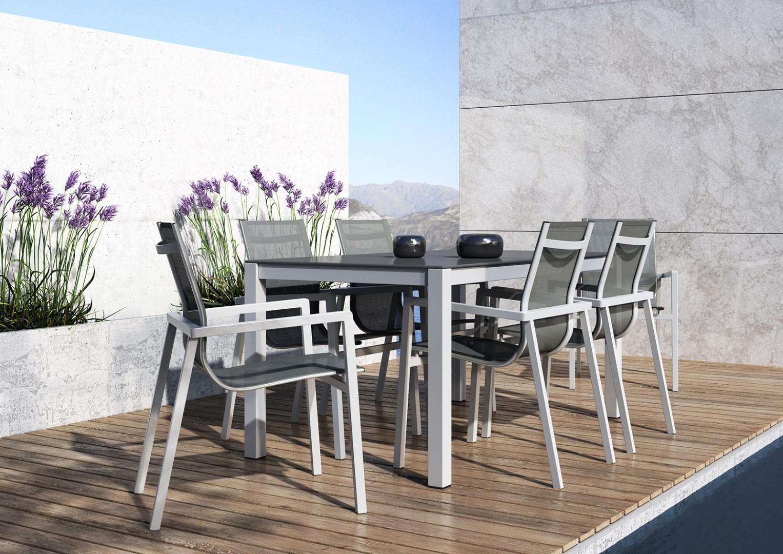 Krzesło aluminiowe ALICANTE