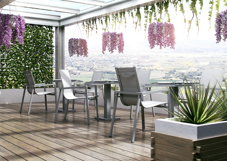 nowoczesne tarasy stół Vigo