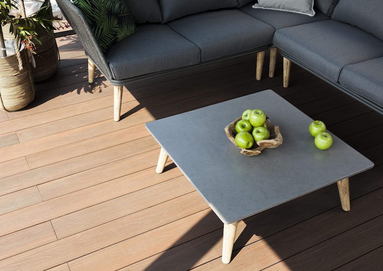 Ogrody nowoczesne - meble ogrodowe CORFU SUNS