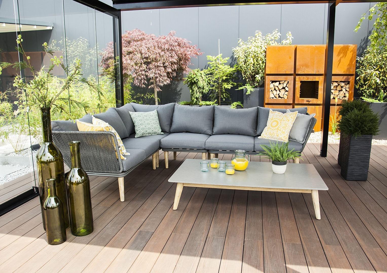 nowoczesne tarasy ogrodowe - meble CORFU II