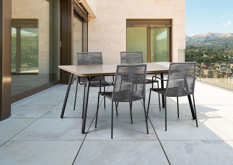 krzesła na balkon Elos Suns