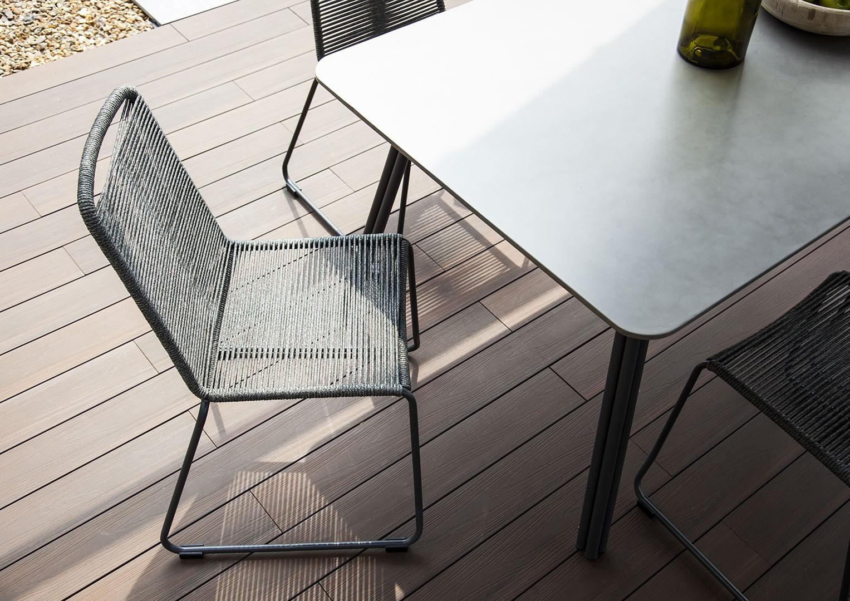 meble na balkon krzesła balkonowe Elos