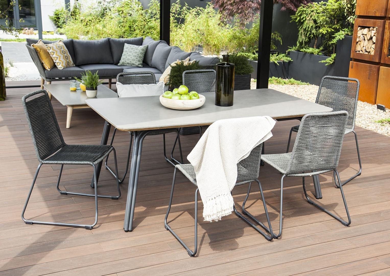 skandynawskie meble ogrodowe stół SIMI