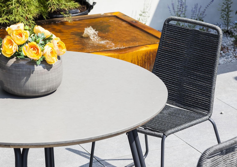 stół na taras stół okrągły Simi