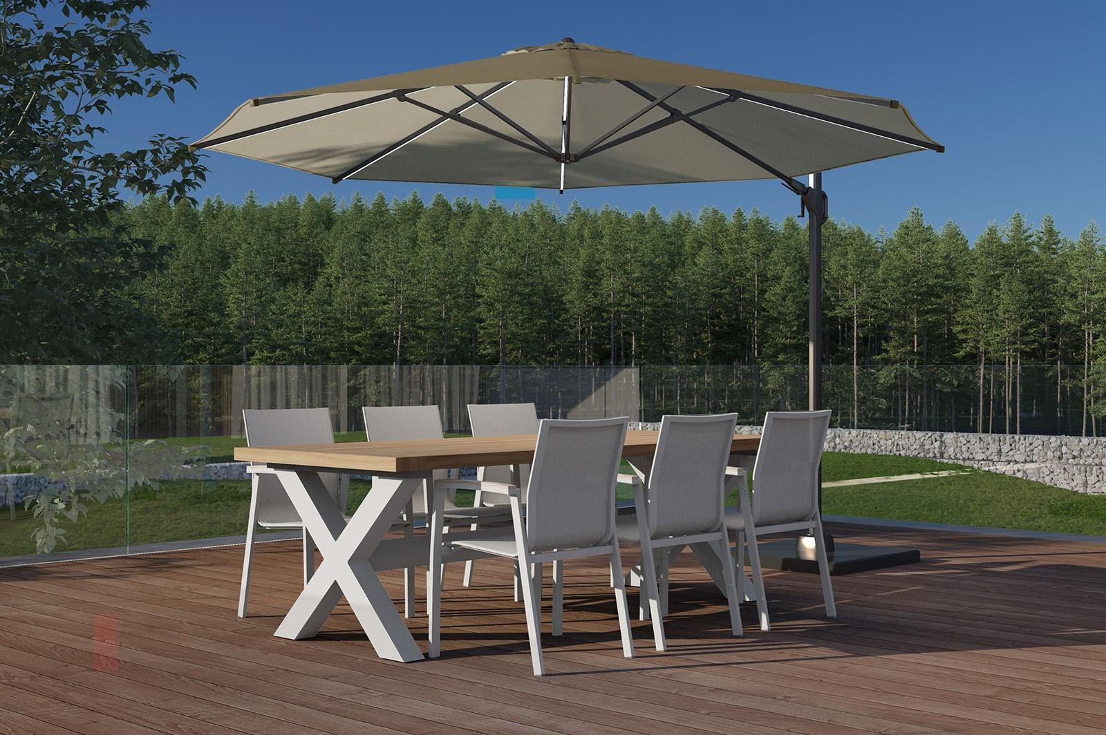 krzesła ogrodowe metalowe LEON